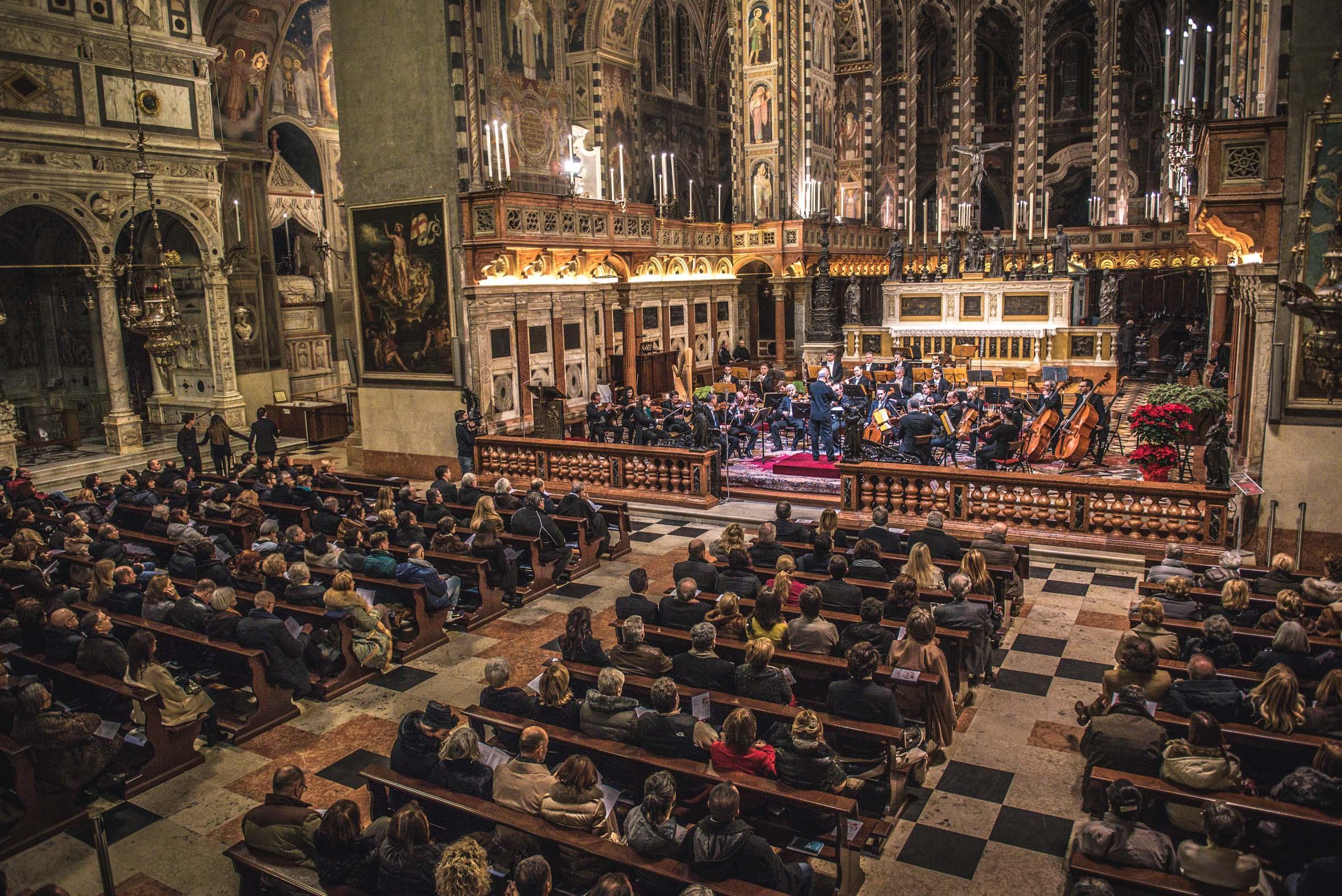 Concerto di Natale al Santo dell'Opv in memoria di Luca Ometto